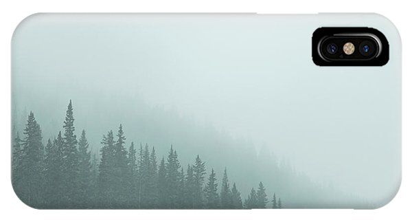 Banff iPhone Case - Mist On The Morning Hills by Evelina Kremsdorf