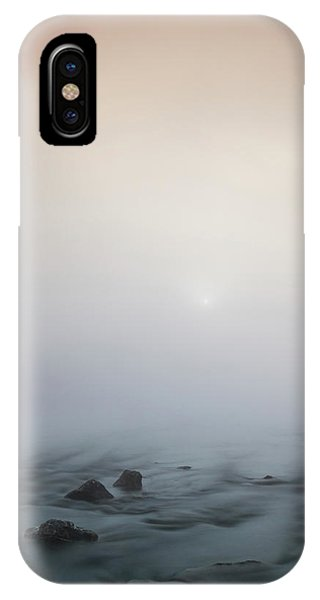 Mist Over The Third Tone From The Sun IPhone Case