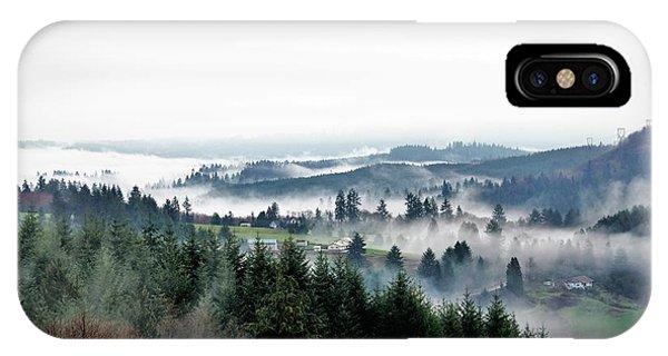 Mist Rising IPhone Case