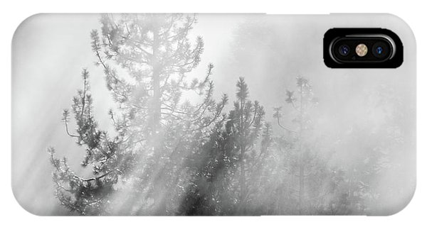 Mist Shadows IPhone Case