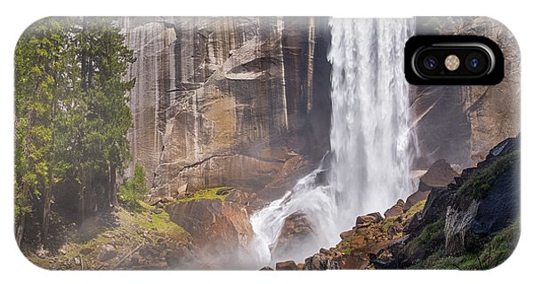 Mist Trail And Vernal Falls IPhone Case