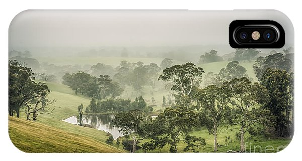 IPhone Case featuring the photograph Mist Valley by Ray Warren