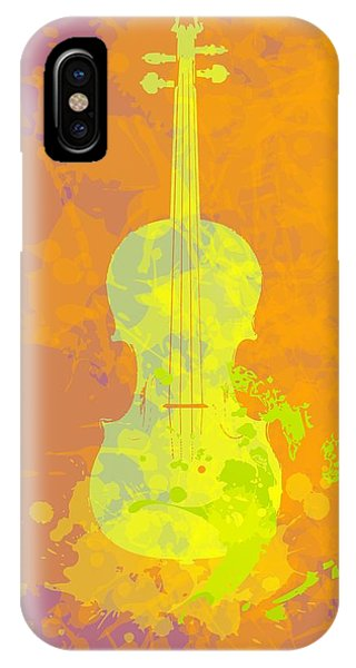 Mist Violin IPhone Case