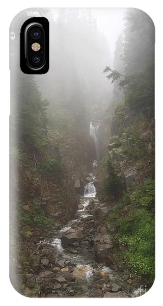 Misted Waterfall IPhone Case