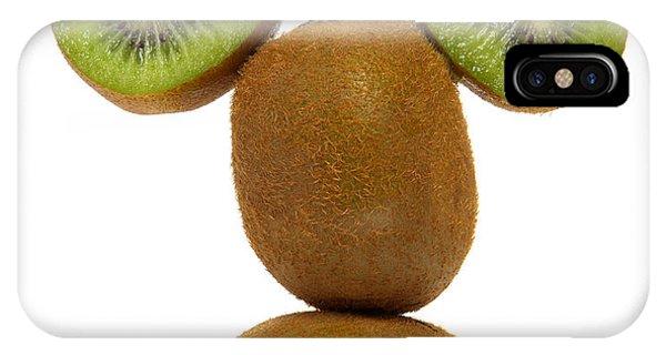 Cultivar iPhone Case - Mister Kiwi by Olivier Le Queinec