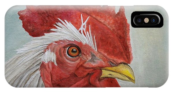 Mister Rooster IPhone Case