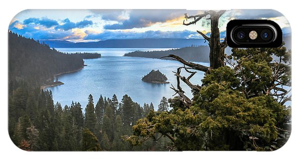 Quick iPhone Case - Mistic Tahoe Sunrise by Mike  Herron