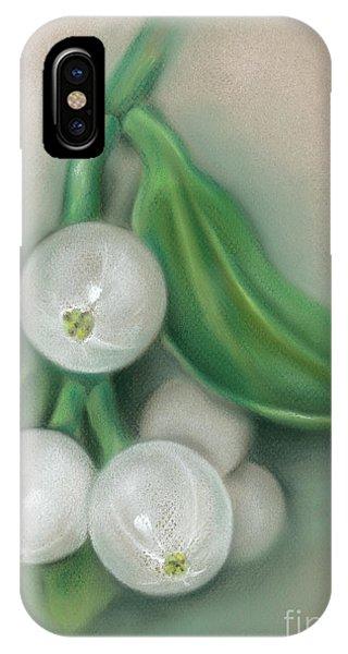 Mistletoe Berries IPhone Case