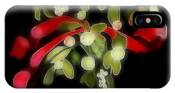 Mistletoe  IPhone Case