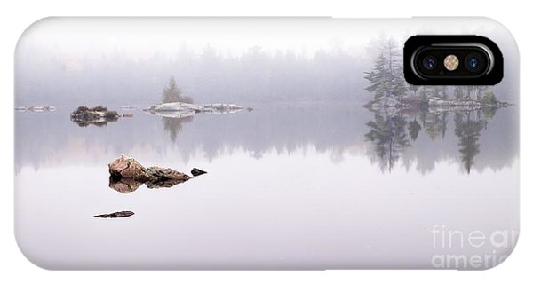 Misty Algonquin Morning IPhone Case