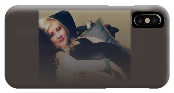 Misty Annah Relaxing IPhone Case