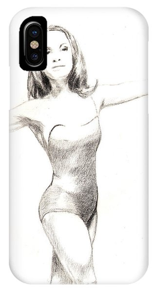 Misty Ballerina Dancer II IPhone Case