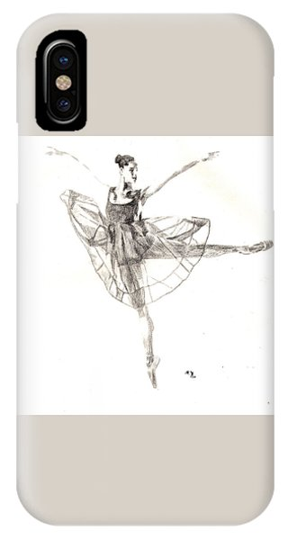 Misty Ballerina Dancer IIi IPhone Case