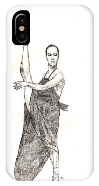 Misty Ballerina Dancer  IPhone Case