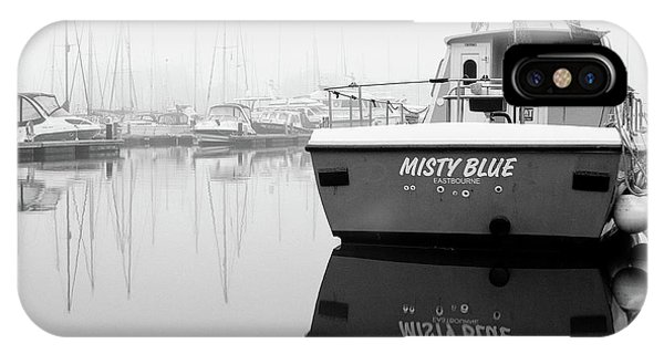 IPhone Case featuring the photograph Misty Blue Eastbourne by Will Gudgeon