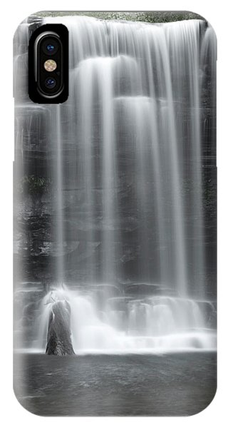 Misty Canyon Waterfall IPhone Case