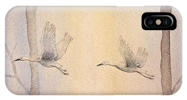 Misty Flight IPhone Case