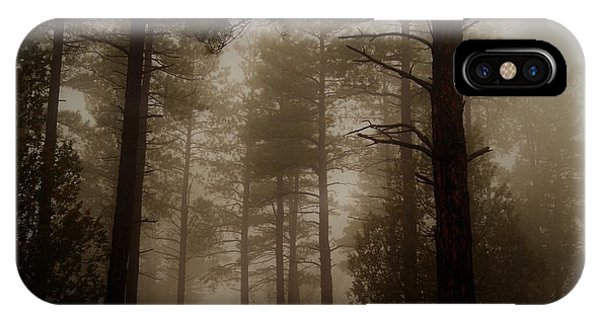 Misty Forest Morning IPhone Case