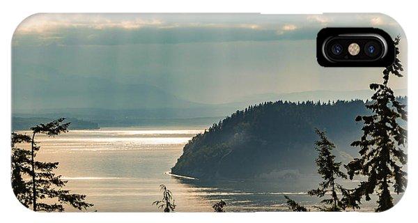 Misty Island IPhone Case