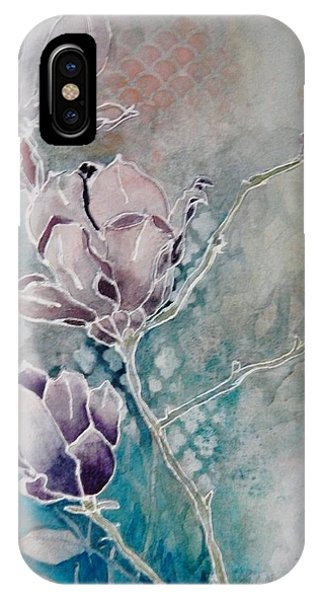 Misty Magnolias IPhone Case