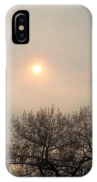 Lazy Hazy Sunset IPhone Case