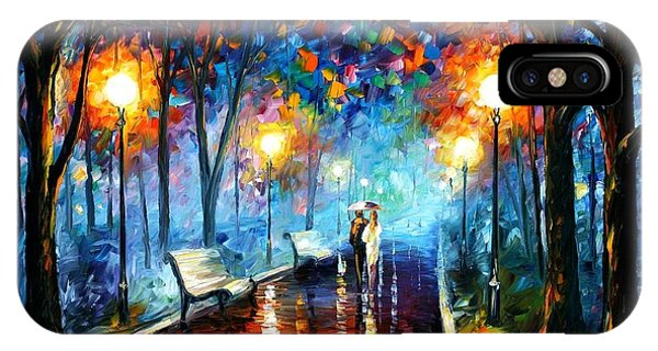 iPhone Case - Misty Mood by Leonid Afremov