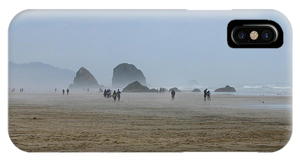 Misty Morning At Cannon Beach IPhone Case