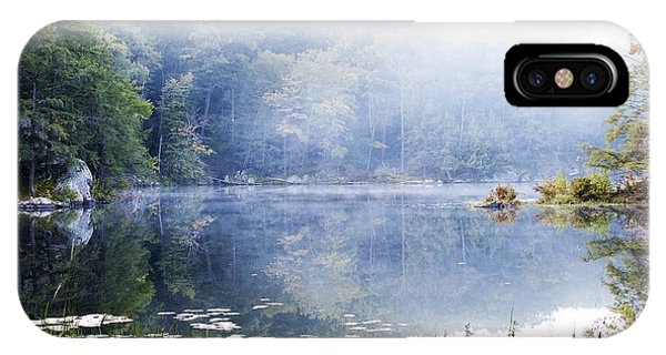 Misty Morning At John Burroughs #1 IPhone Case