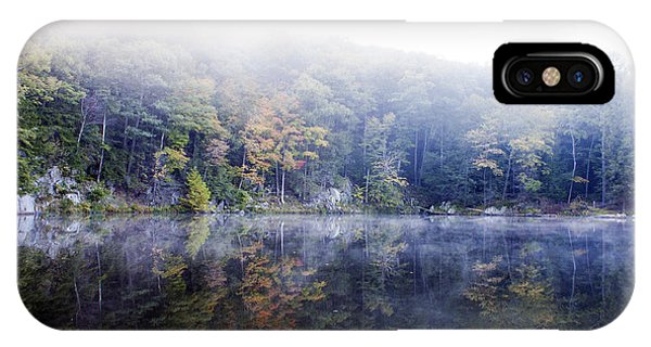 Misty Morning At John Burroughs #2 IPhone Case