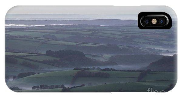 Misty Morning On Exmoor  IPhone Case