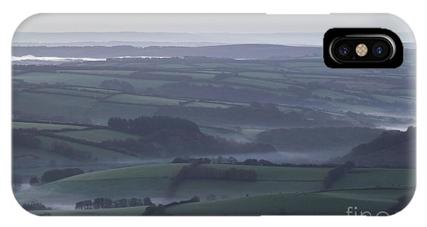 Misty Morning On Exmoor  IPhone Case