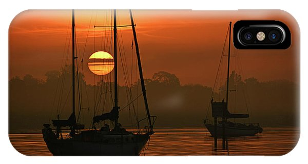 Misty Morning Sunrise IPhone Case