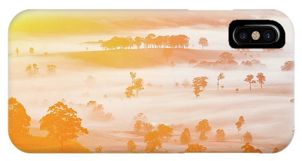 Hunting iPhone Case - Misty Mornings by Az Jackson