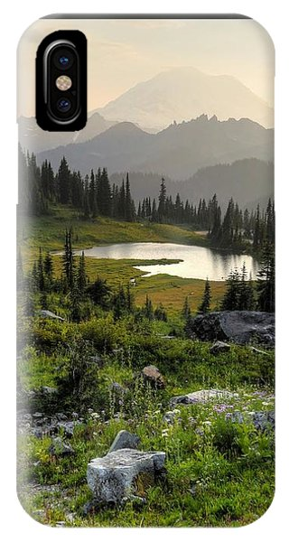 Misty Mountain Landscape IPhone Case