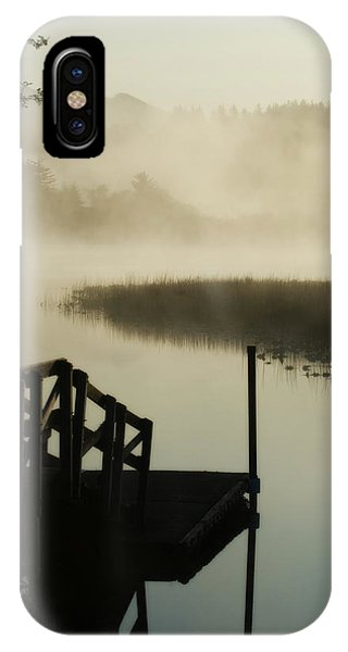 Misty Oregon Morning IPhone Case