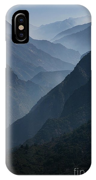 Misty Peaks IPhone Case