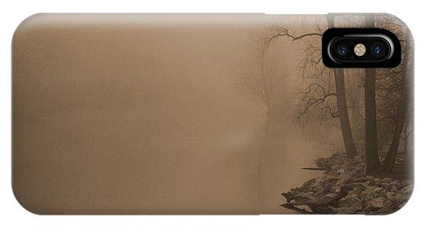 Misty River - Vintage  IPhone Case