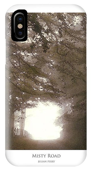 Misty Road IPhone Case