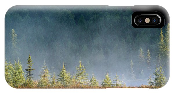 Misty Sunrise At Costello Creek IPhone Case