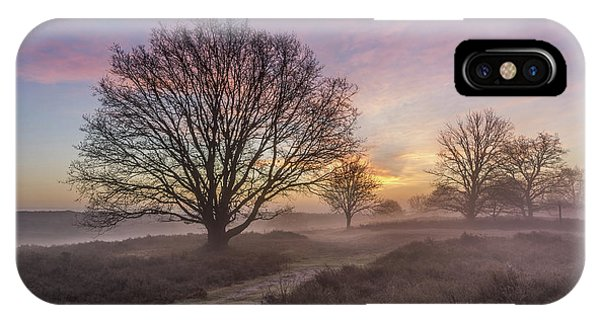Misty Sunrise IPhone Case