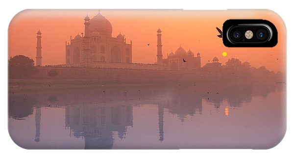 Misty Sunset IPhone Case
