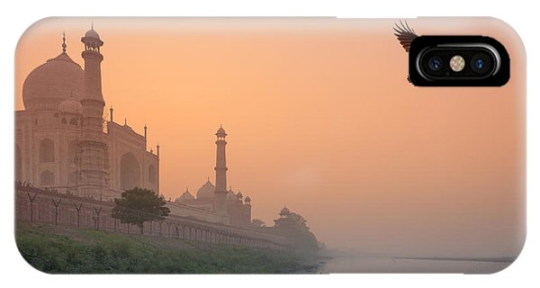 Misty Taj Mahal IPhone Case