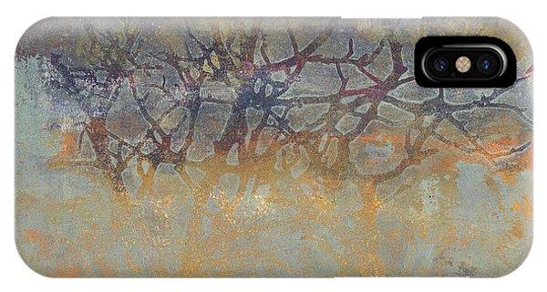 Misty Trees IPhone Case