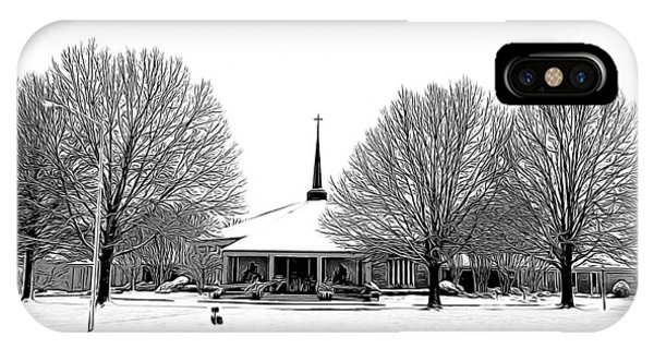 Mitchell Rd Presbyterian IPhone Case