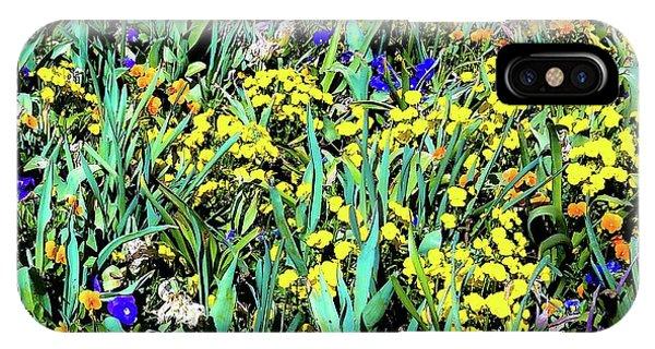 Mixed Flower Garden 515 IPhone Case