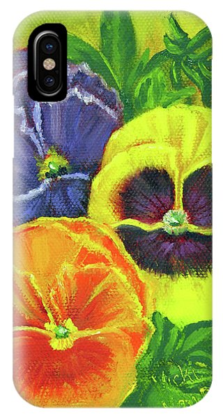 Mixed Pansy  IPhone Case