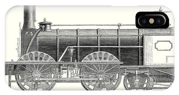 Mixed Traffic Locomotive IPhone Case
