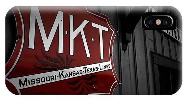 Mkt Railroad Lines IPhone Case