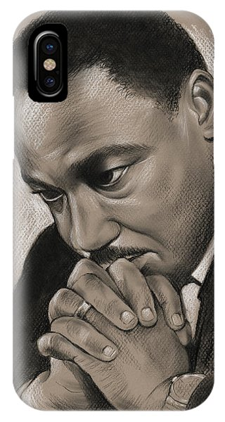 Rights iPhone Case - MLK by Greg Joens