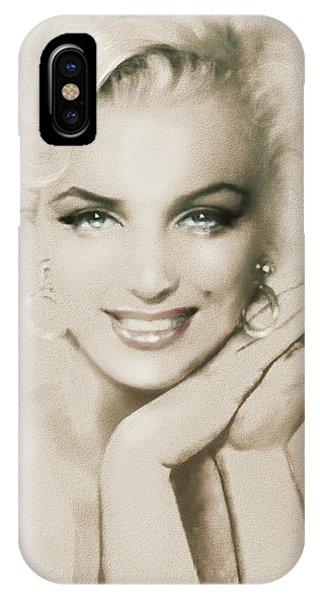Mm 133 Sepia IPhone Case